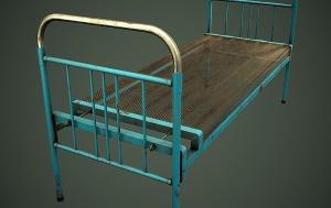 Железная кровать